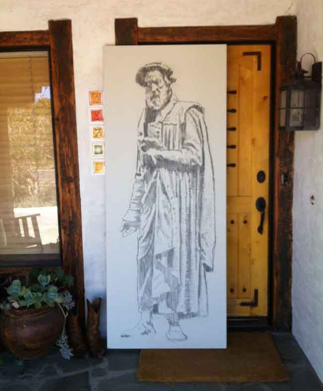 Seven paintings on doors the blank canvas blog by hyatt moore tyndale door altavistaventures