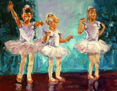 Ballerinas, Number 3
