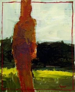 Figure in Red Left