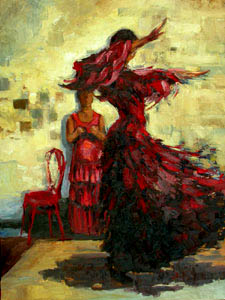 Flamenco Gallery 9 (with Chair)
