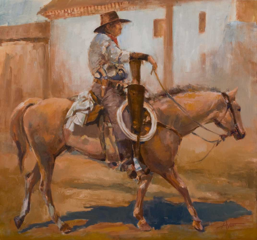 San Juan Vaquero By Hyatt Moore Painter
