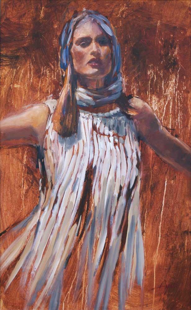 Shulamite Woman By Hyatt Moore Painter