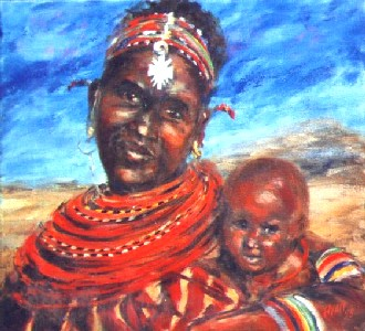 Rendille Mother and Child