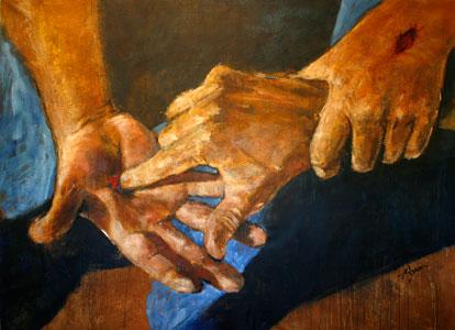 Image result for Jesus' hands