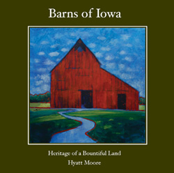 Barns of Iowa - book cover