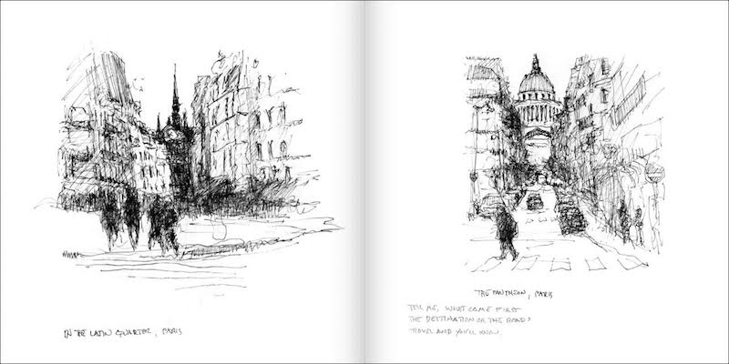 Sketches of France pages 5-6
