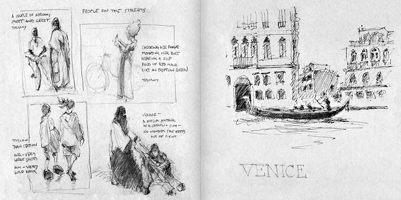 Sketches of Italy pages 80-81