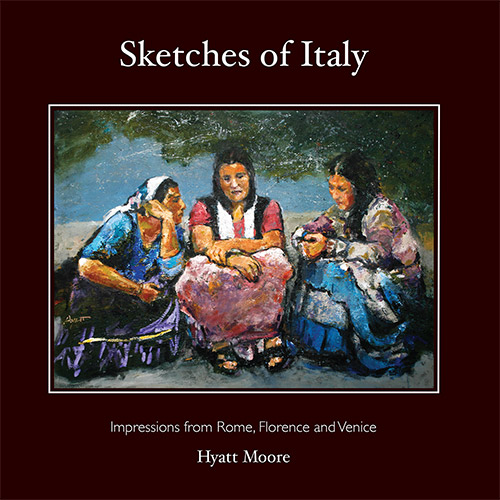 Sketches of Italy - book cover